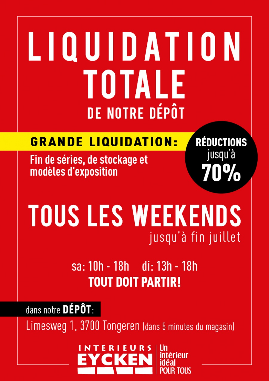 Interieurs Eycken - Outlet \'Liquidation totale\'